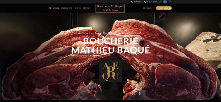 Boucherie baque Mont de Marsan 40
